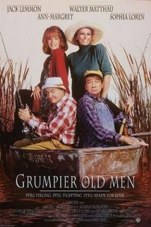 Grumpier Old Men - Theatrical release poster