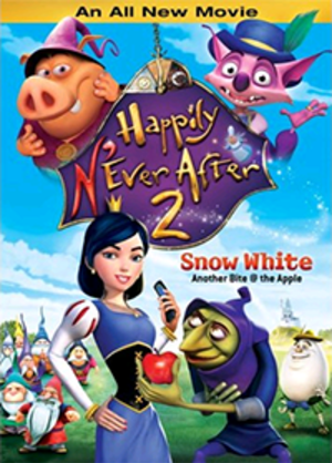 Happily N'Ever After 2: Snow White—Another Bite @ the Apple - Image: Happily N'Ever After 2 Snow White Another Bite at the Apple Coverart