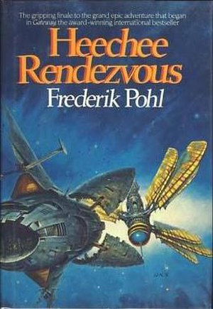 Heechee Rendezvous - First edition cover