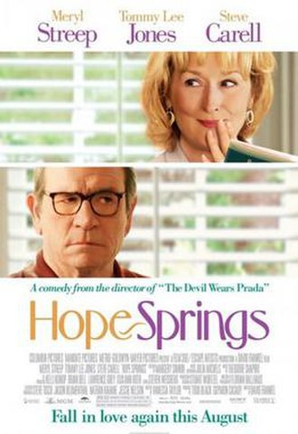 Hope Springs (2012 film) - Theatrical release poster