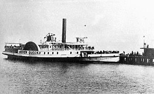 River Queen (steamboat) - Image: Hsl River queen neg