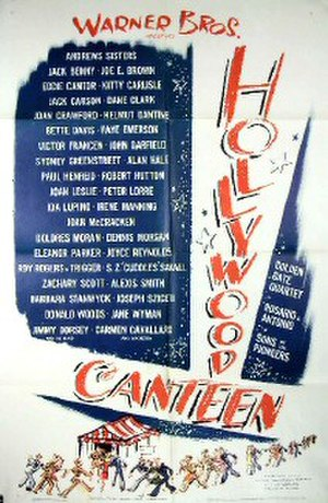 Hollywood Canteen (film) - Original theatrical poster