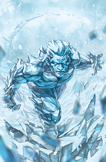 Iceman (Marvel Comics) Fictional character appearing in American comic books published by Marvel Comics