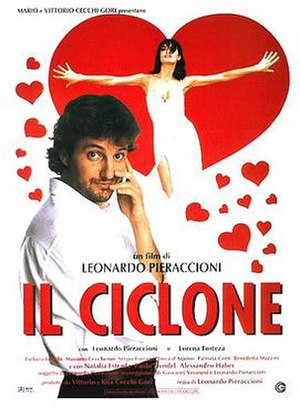 The Cyclone (film) - Italian theatrical release poster