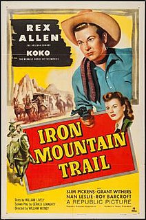 <i>Iron Mountain Trail</i> 1953 film by William Witney