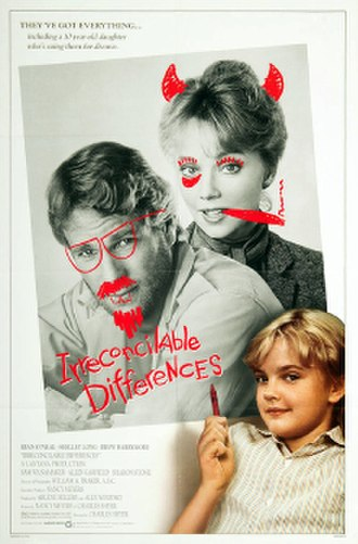 Irreconcilable Differences - Theatrical release poster