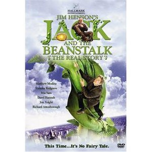 Jack and the Beanstalk: The Real Story - Jack and the Beanstalk: The Real Story, DVD cover