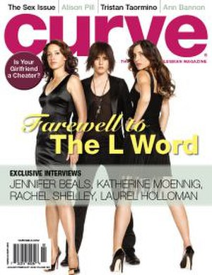 Curve (magazine) - Curve, January 2009