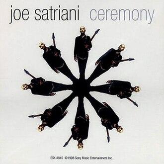 Ceremony (Joe Satriani song) - Image: Joe Satriani 1998 Ceremony
