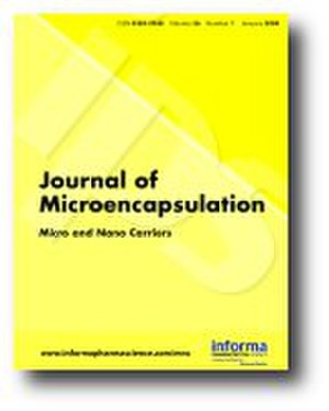 Journal of Microencapsulation - Image: Journal of Microencapsulation cover