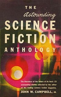 <i>The Astounding Science Fiction Anthology</i> book by John W. Campbell