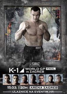 K-1 World Grand Prix 2012 Final K-1 martial arts event in 2012