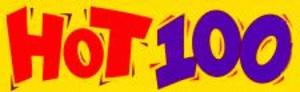 KJKK - Hot 100 logo used from 1998 to 2001.