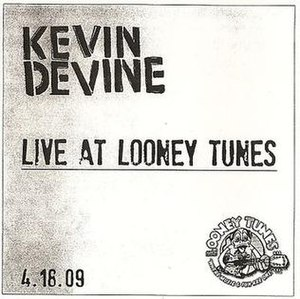 Live at Looney Tunes (Kevin Devine album) - Image: Kdlivelooneytunes