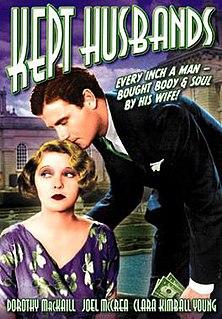 <i>Kept Husbands</i> 1931 film by Lloyd Bacon