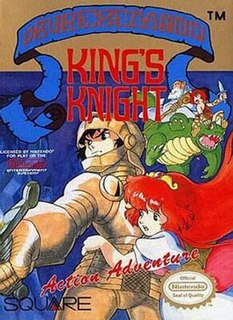<i>Kings Knight</i> video game by Workss & Square
