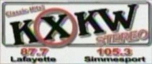 KSLO-FM - KXKW's old logo