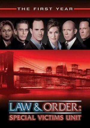 Law & Order: Special Victims Unit (season 1) - Season 1 U.S. DVD cover