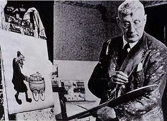 L. S. Lowry - Lowry at work