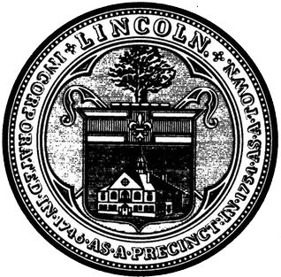 Official seal of Lincoln, Massachusetts