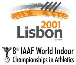 2001 IAAF World Indoor Championships - Image: Lisbon 2001 logo