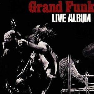 Live Album (Grand Funk Railroad album) - Image: Live album cover
