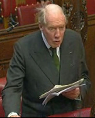 John Wilson, 2nd Baron Moran - Moran in 2009