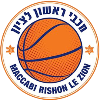 Maccabi Rishon LeZion (basketball) - Image: Maccabi Rishon logo 2017