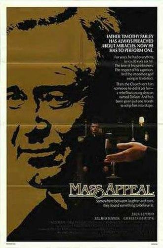 Mass Appeal (film) - Original poster