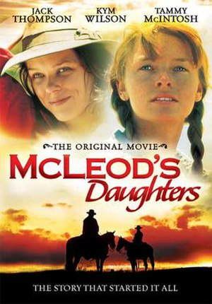 McLeod's Daughters (film) - The Region 1 DVD.
