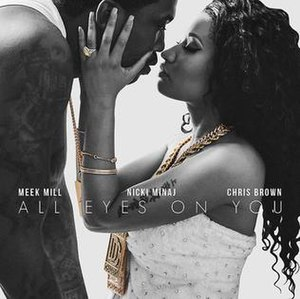 All Eyes on You - Image: Meek Mill All Eyes On You Cover