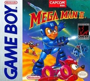 Mega Man II (Game Boy) - North American cover art