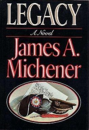 Legacy (Michener novel) - First edition