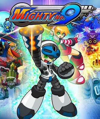 Mighty No. 9 - Cover art