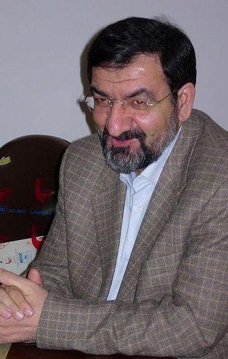 Iranian legislative election, 2012 - Image: Mohsen Rezaee Mirgha'ed
