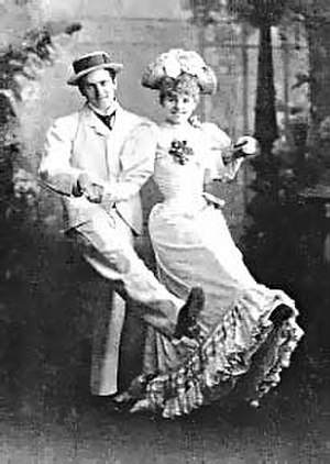 Adrian Ross - A. C. Seymour and Letty Lind in Morocco Bound