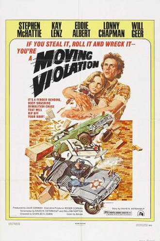 Moving Violation (film) - Film poster