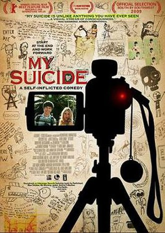Archie's Final Project - Promotional film poster, showing the original title My Suicide