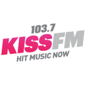 WKXJ - Image: New 103.7 KISS FM Logo