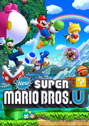 New Super Mario Bros. U - Packaging artwork released for all territories