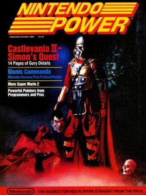 Castlevania II: Simon's Quest - Image: Nintendopower 002