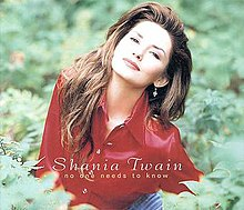 Shania Twain — No One Needs to Know (studio acapella)