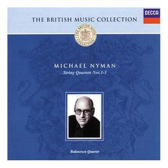 String Quartets 1–3 - Image: Nyman British Composers