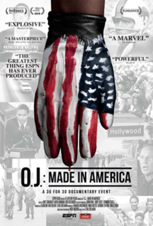 O.J.: Made in America - Television release poster