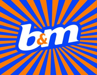 B & M - Image: Official B&M Retail logo