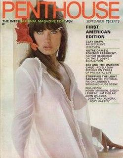 <i>Penthouse</i> (magazine) erotic magazine