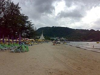Patong - Patong Beach looking south