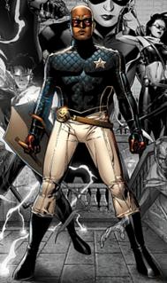 Patriot (comics) Comic book superhero