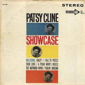 Showcase (Patsy Cline album) - Image: Patsy Cline Original Showcase