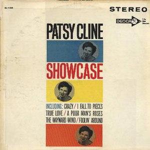 Original cover of the 1961 studio album, Patsy...